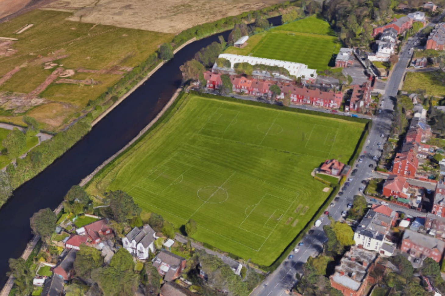 Lower Broughton Playing Fields 11 a side | Grass football pitch