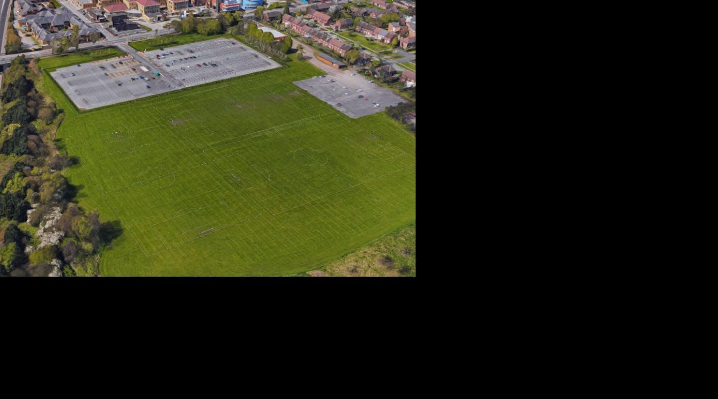 Stott Lane Playing Fields 11 a side | Grass football pitch