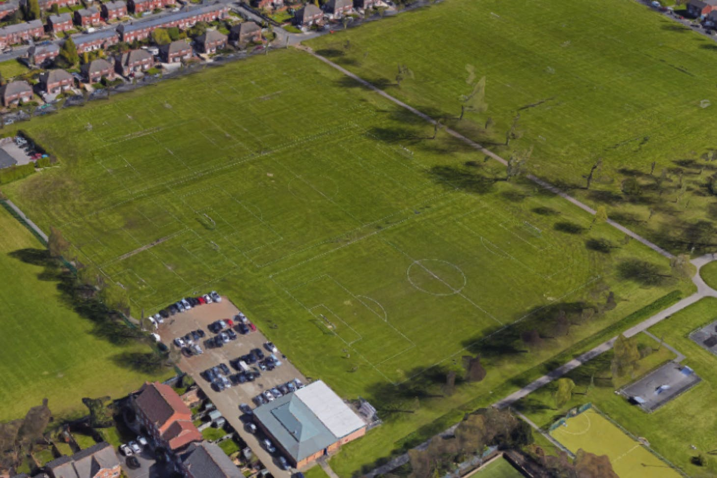Beech Farm Playing Fields 11 a side | Grass football pitch