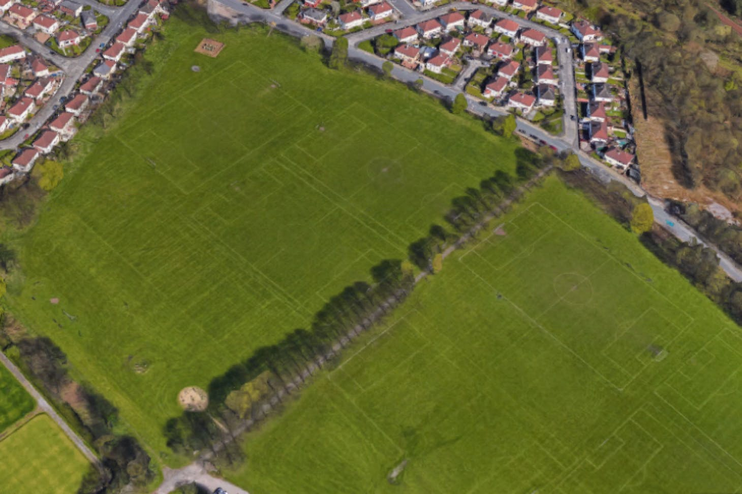 Bolton Road Playing Fields 11 a side | Grass football pitch