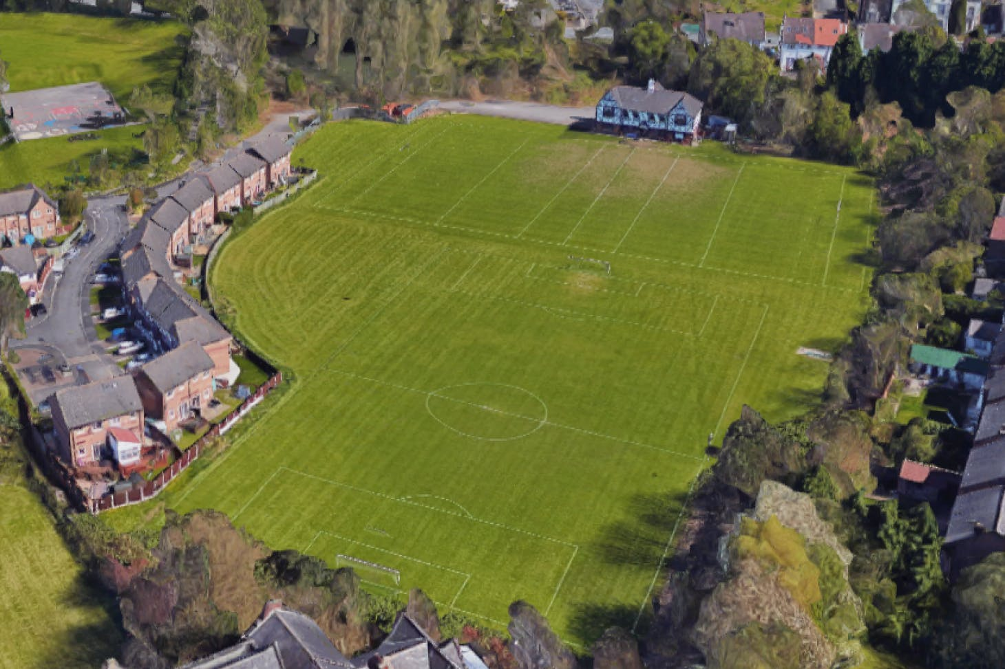 Broughton Rugby Union Football Club 11 a side | Grass football pitch