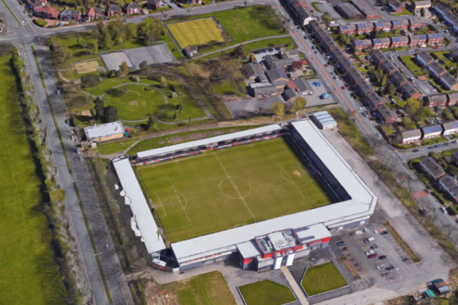 Broadhurst Park Stadium 11 a side | Grass football pitch