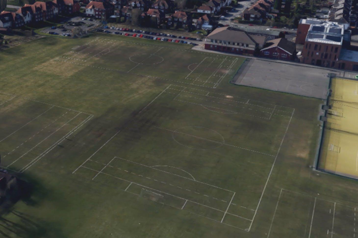 William Hulme Grammar School 11 a side | Grass football pitch