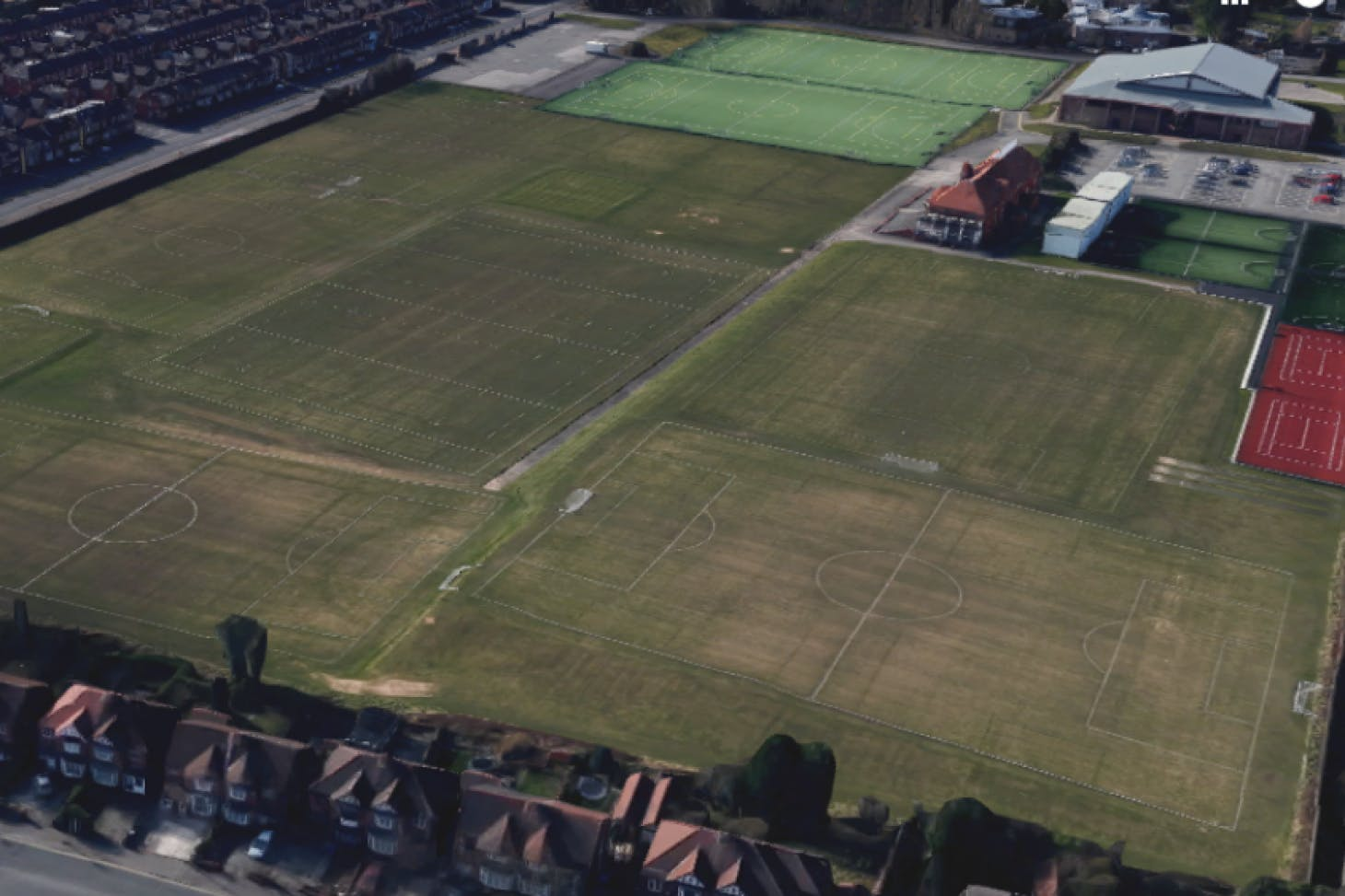 Armitage Centre 11 a side   Grass football pitch
