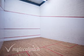 Clarendon Leisure Centre | Hard Squash Court