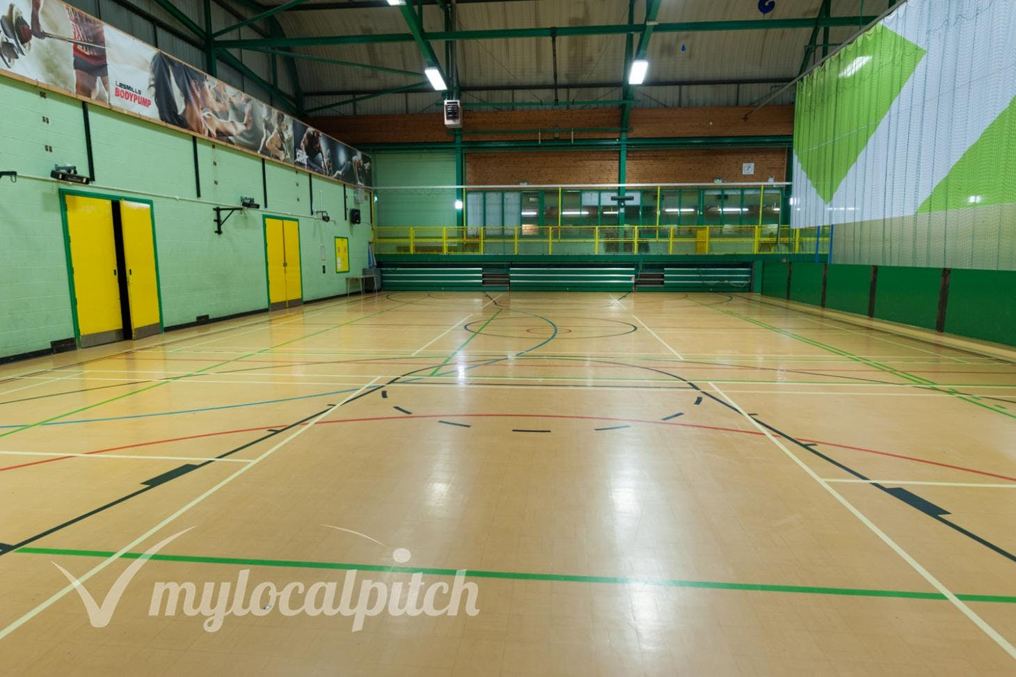 Eccles Leisure Centre Indoor | Hard badminton court