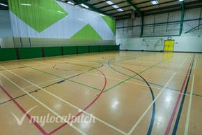Eccles Leisure Centre | Indoor Netball Court