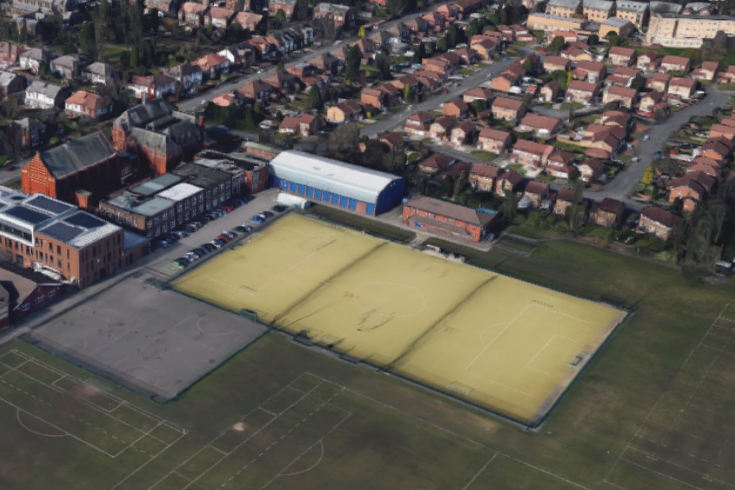William Hulme Grammar School 7 a side | Astroturf football pitch