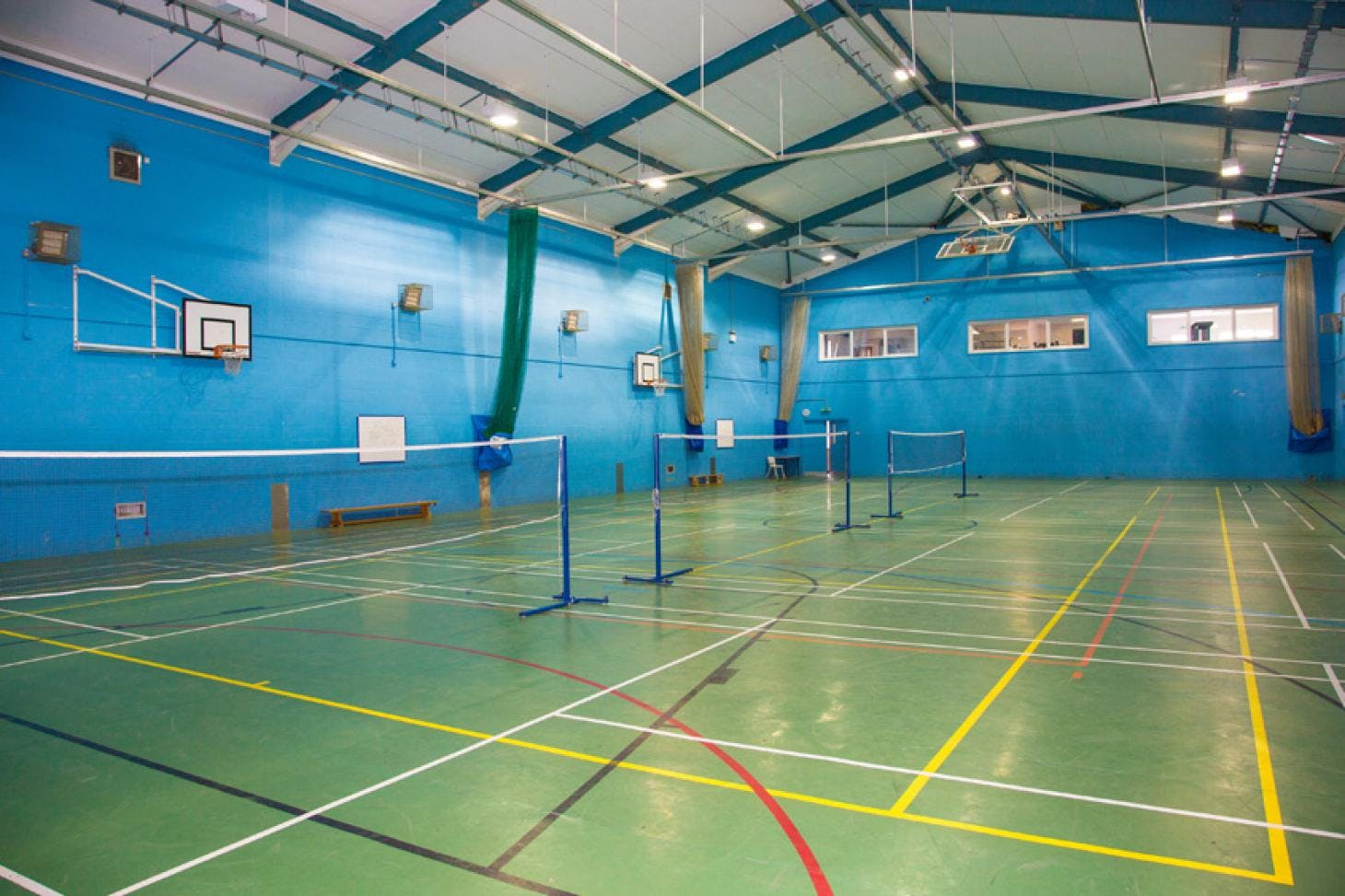 St Dunstan's College (St Dunstan's Enterprises) Indoor | Hard badminton court