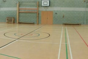 St Cecilia's Church of England School | Indoor Netball Court