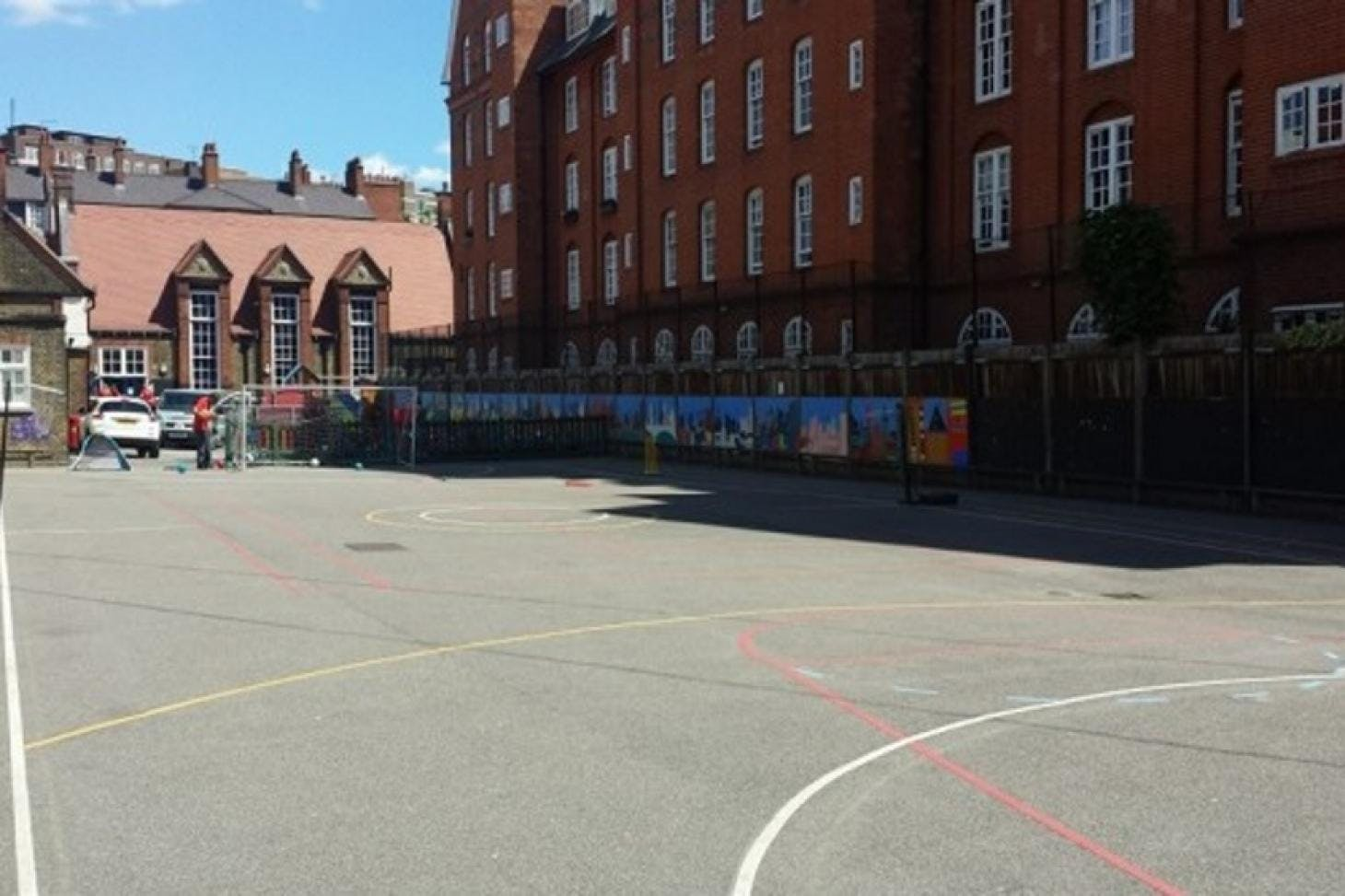 Millbank Academy 5 a side | Concrete football pitch