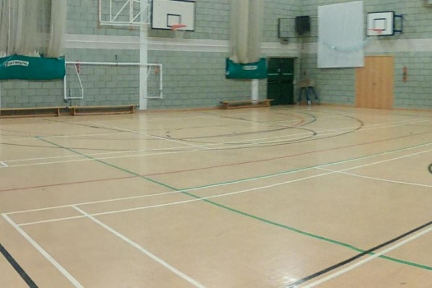 St Cecilia's Church of England School Nets | Sports hall cricket facilities