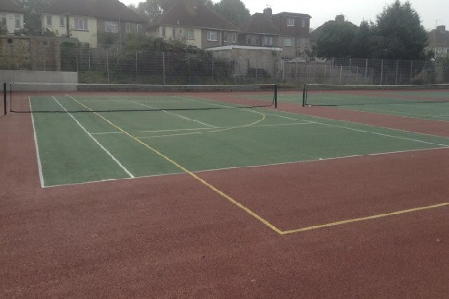 Northfleet Technology College Outdoor   Hard (macadam) tennis court