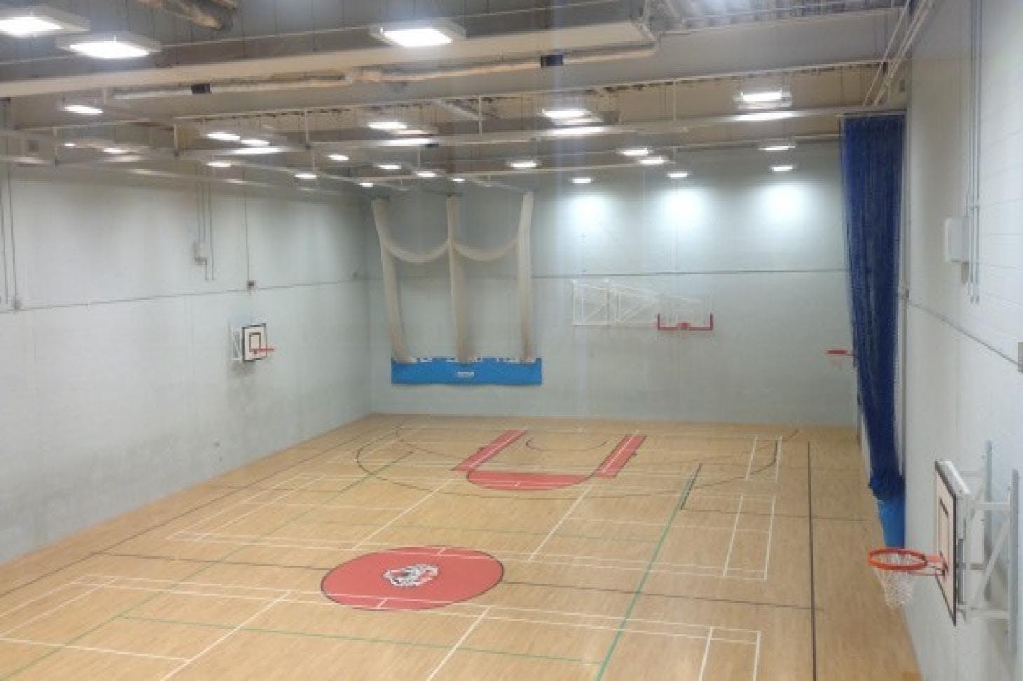 Northfleet Technology College Indoor netball court