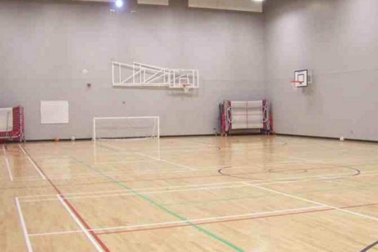 Thamesview School Indoor   Hard badminton court