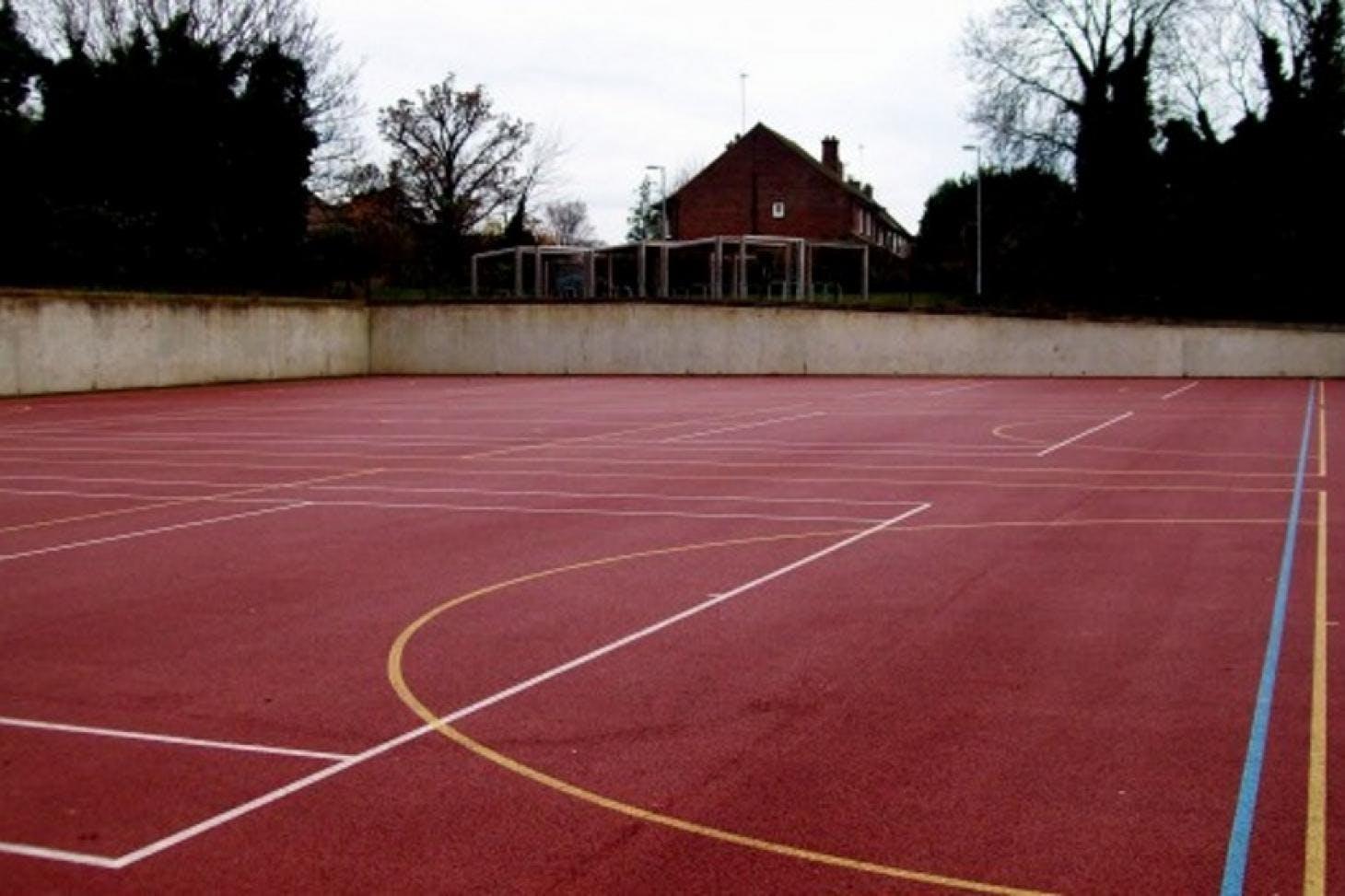 St John's Catholic Comprehensive School Outdoor | Hard (macadam) basketball court