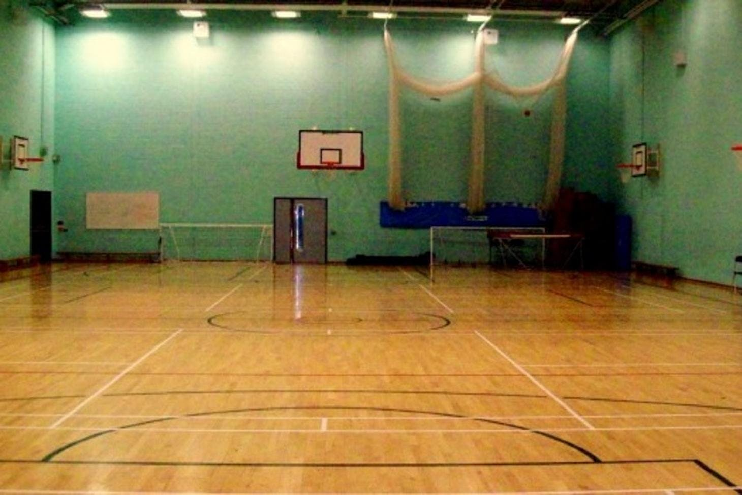 St John's Catholic Comprehensive School Indoor basketball court
