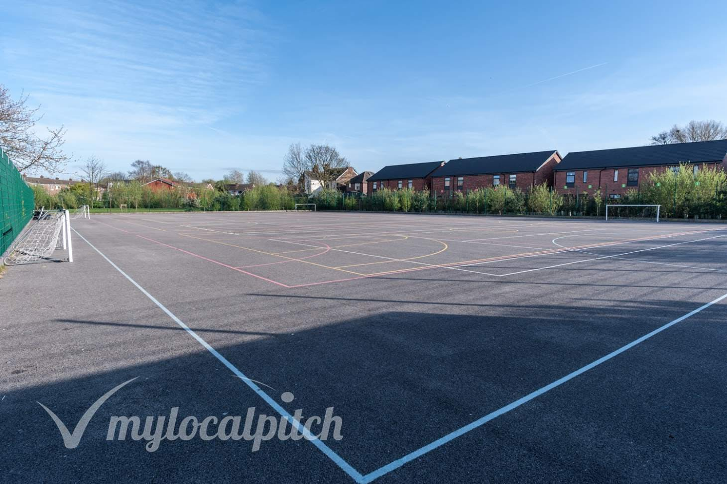 Irlam and Cadishead College Outdoor | Hard (macadam) netball court