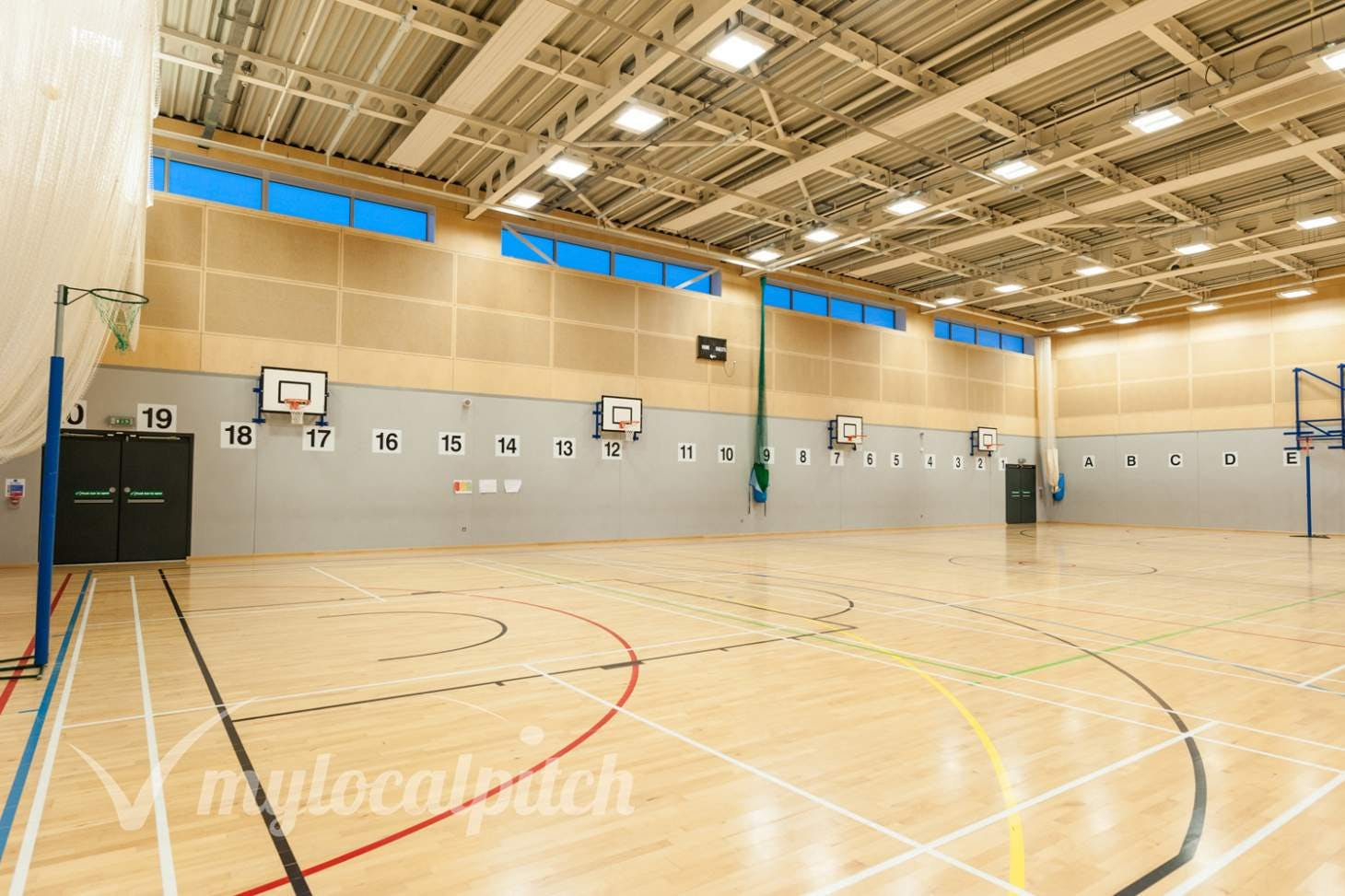 Irlam and Cadishead College Indoor | Hard badminton court