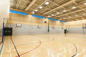 Irlam and Cadishead College | Hard Badminton Court