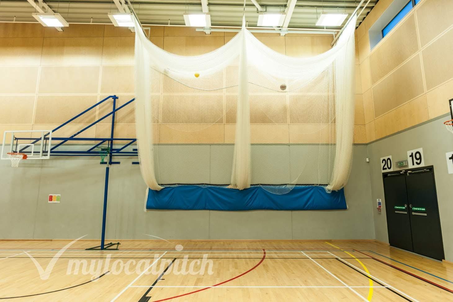 Irlam and Cadishead College Nets | Sports hall cricket facilities