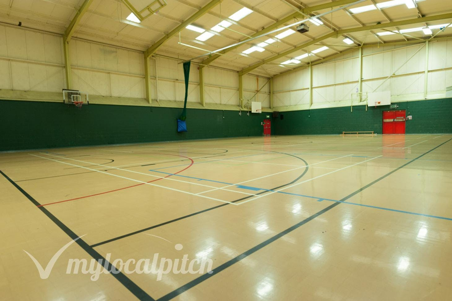 Swinton and Pendlebury Leisure Centre Indoor | Hard badminton court