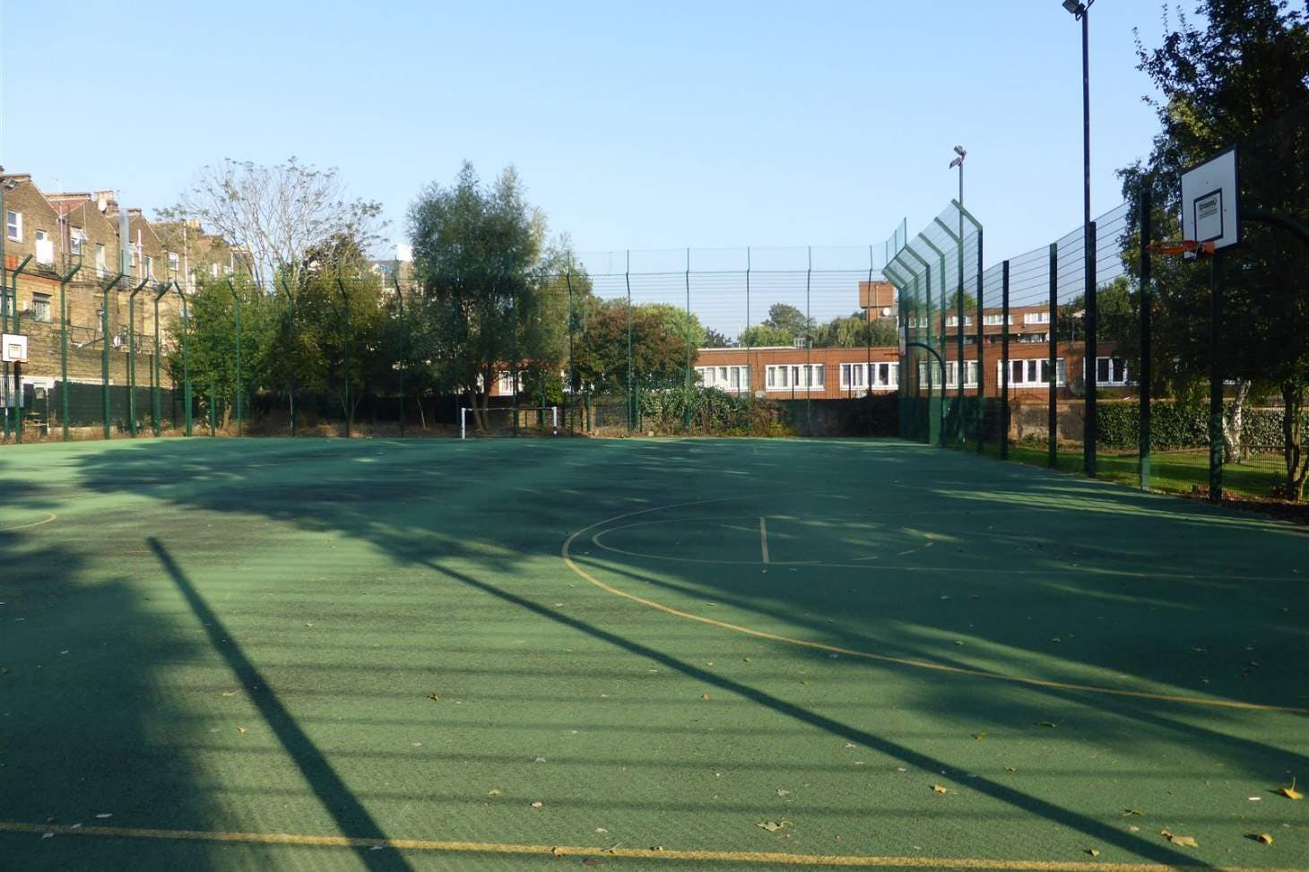 Kilburn Grange 5 a side | Concrete football pitch