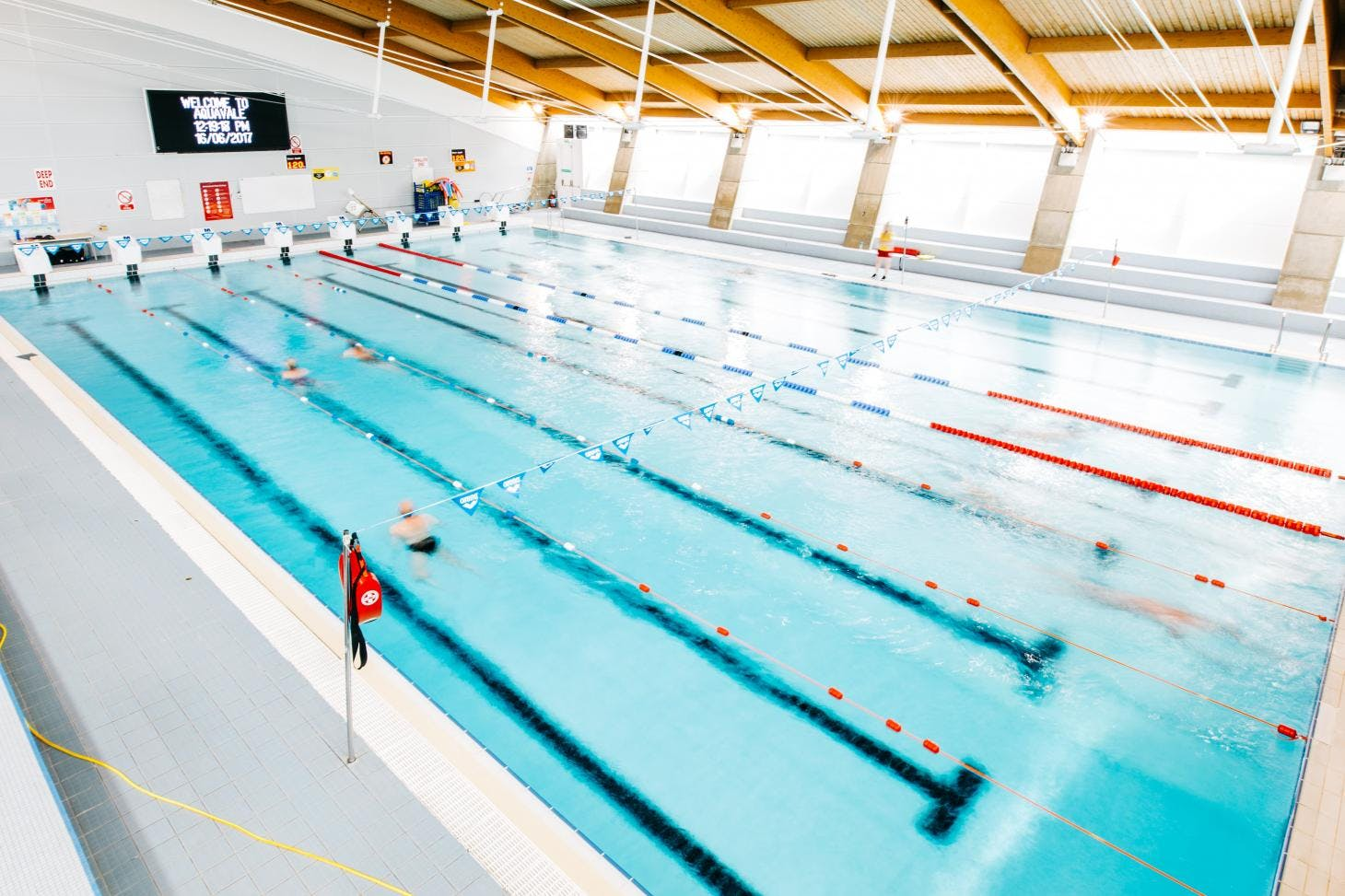 Aqua Vale Swimming and Fitness Centre Indoor swimming pool