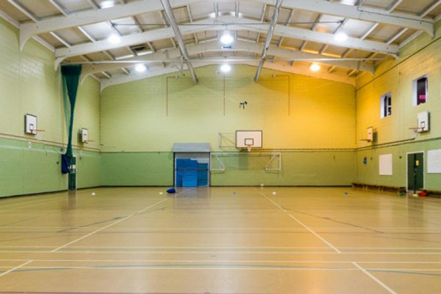 King Harold Business and Enterprise Academy Indoor futsal pitch