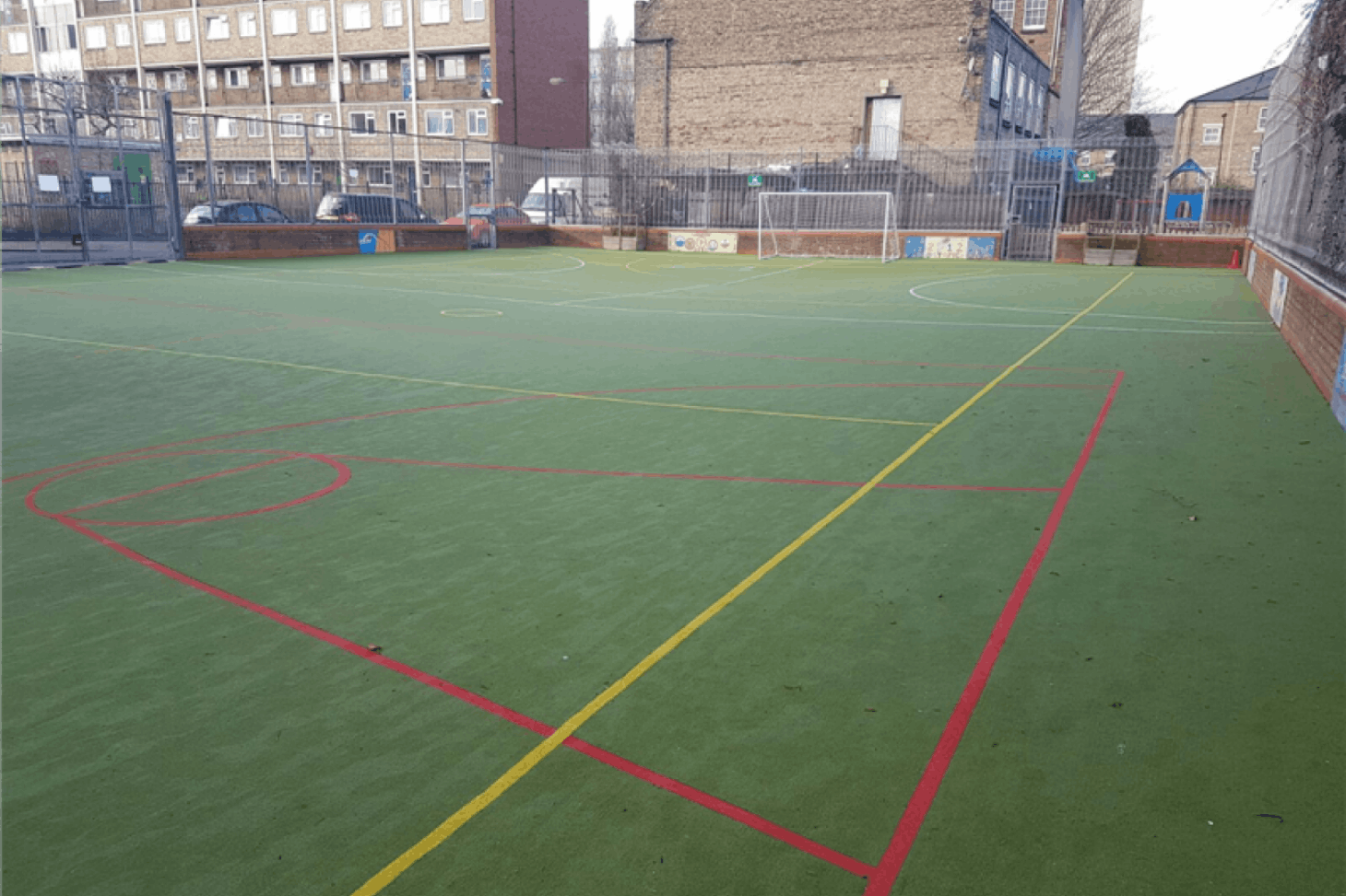 Lawdale Junior School 5 a side | Astroturf football pitch