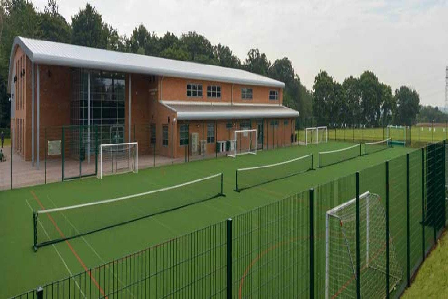 Rickmansworth School Sports Centre Indoor | Hard badminton court