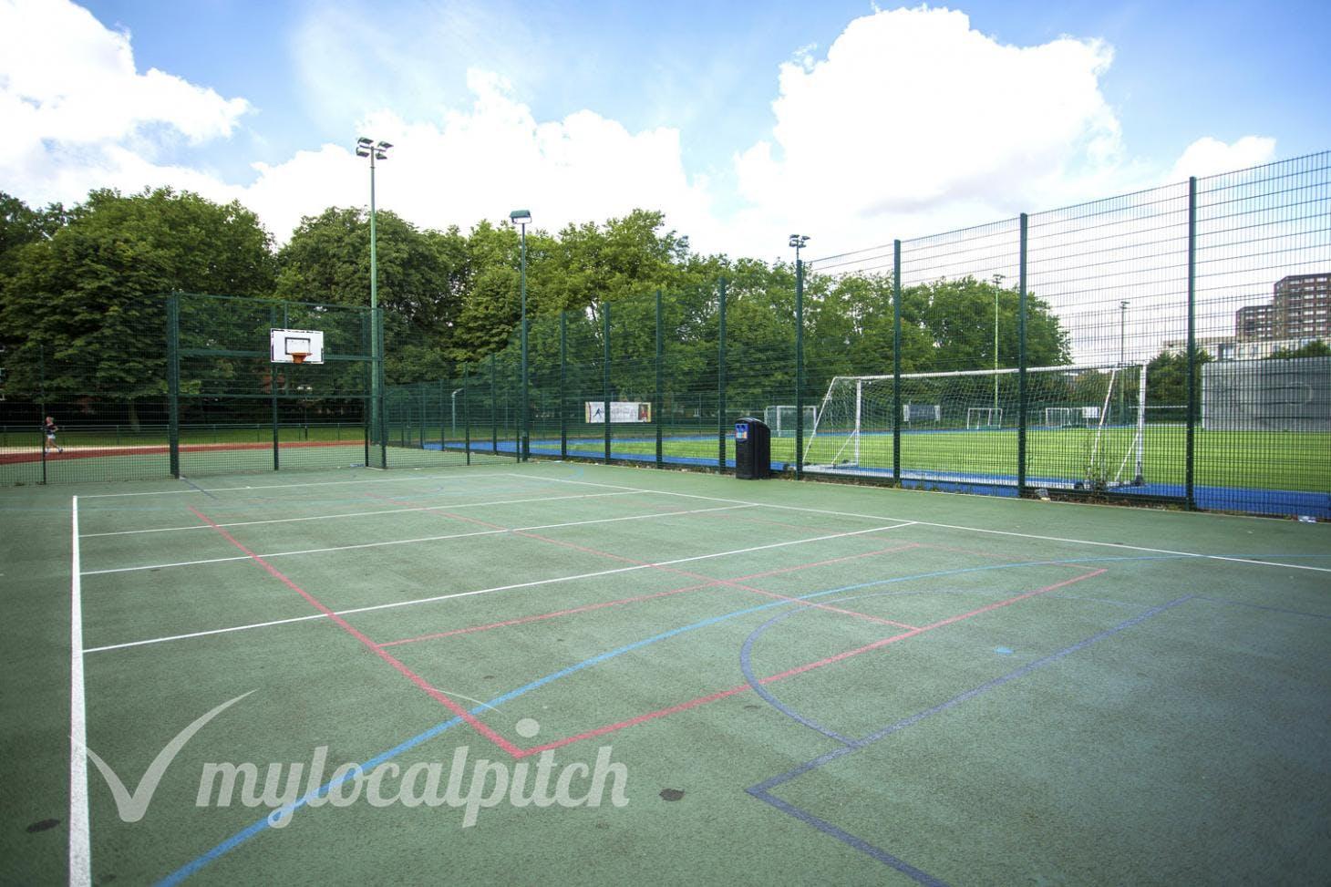 Paddington Recreation Ground 5 a side   Concrete football pitch
