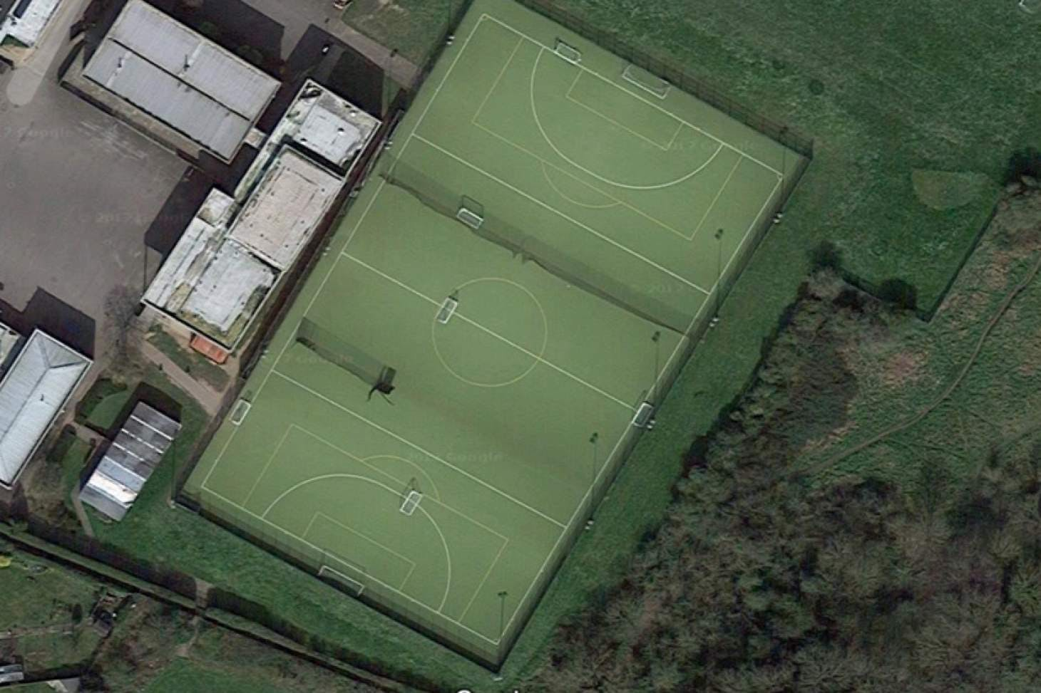 Bourne End Academy Union | Astroturf rugby pitch
