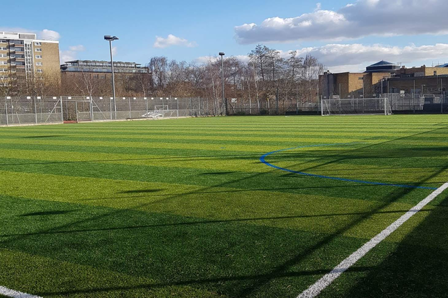 Haverstock School 7 a side   3G Astroturf football pitch