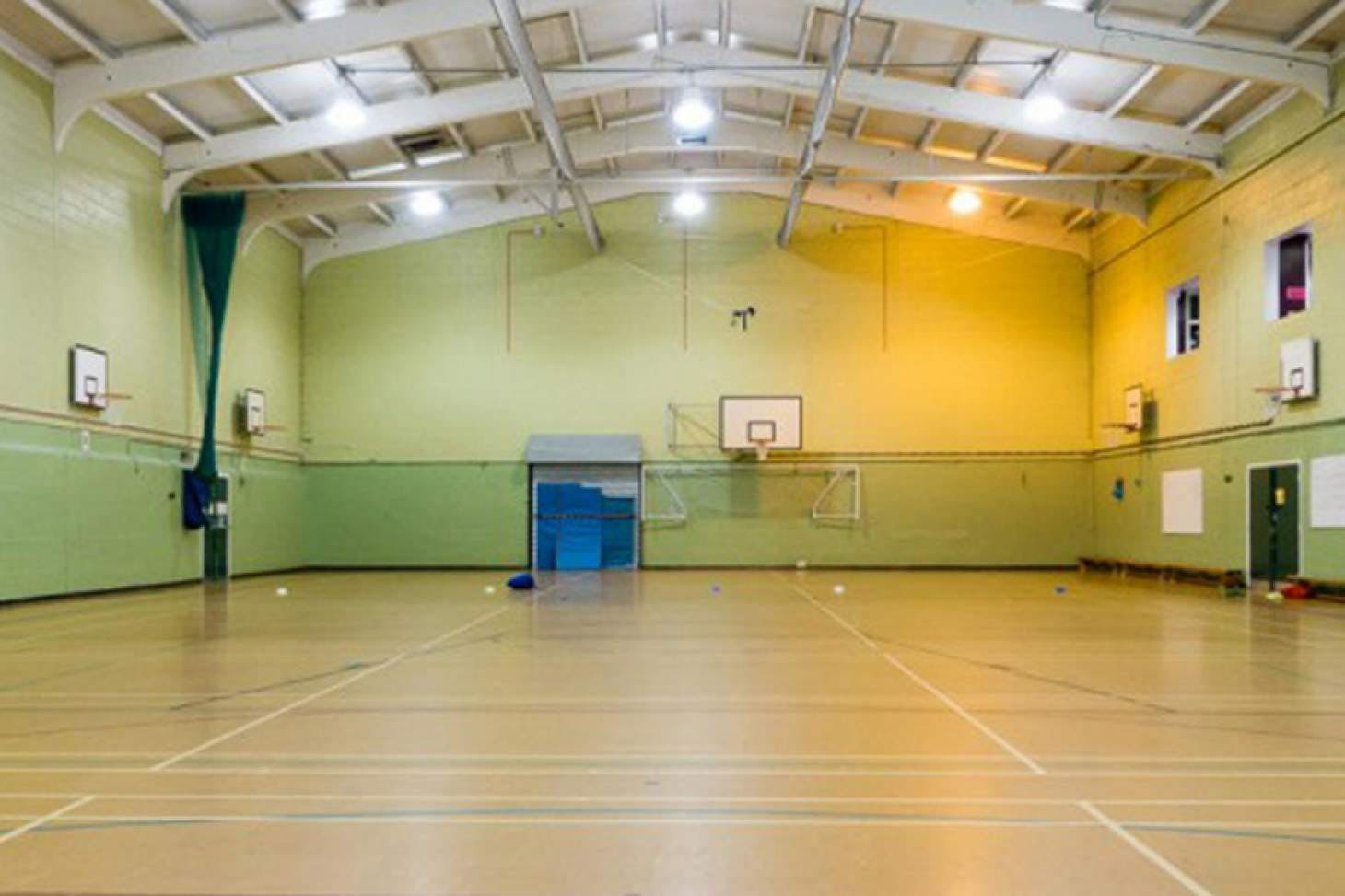King Harold Business and Enterprise Academy Nets | Sports hall cricket facilities
