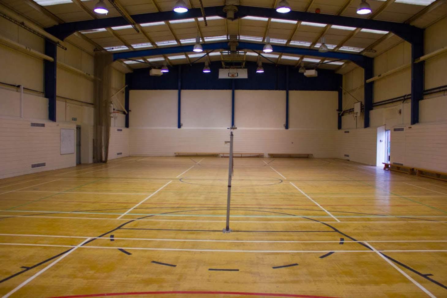 Queens Park Community School Indoor netball court