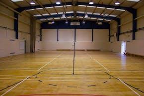 Queens Park Community School | Indoor Netball Court