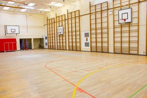 Haileybury Turnford School | Hard Badminton Court