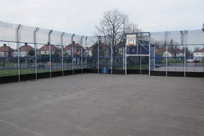Wilbury Primary School | Concrete Football Pitch