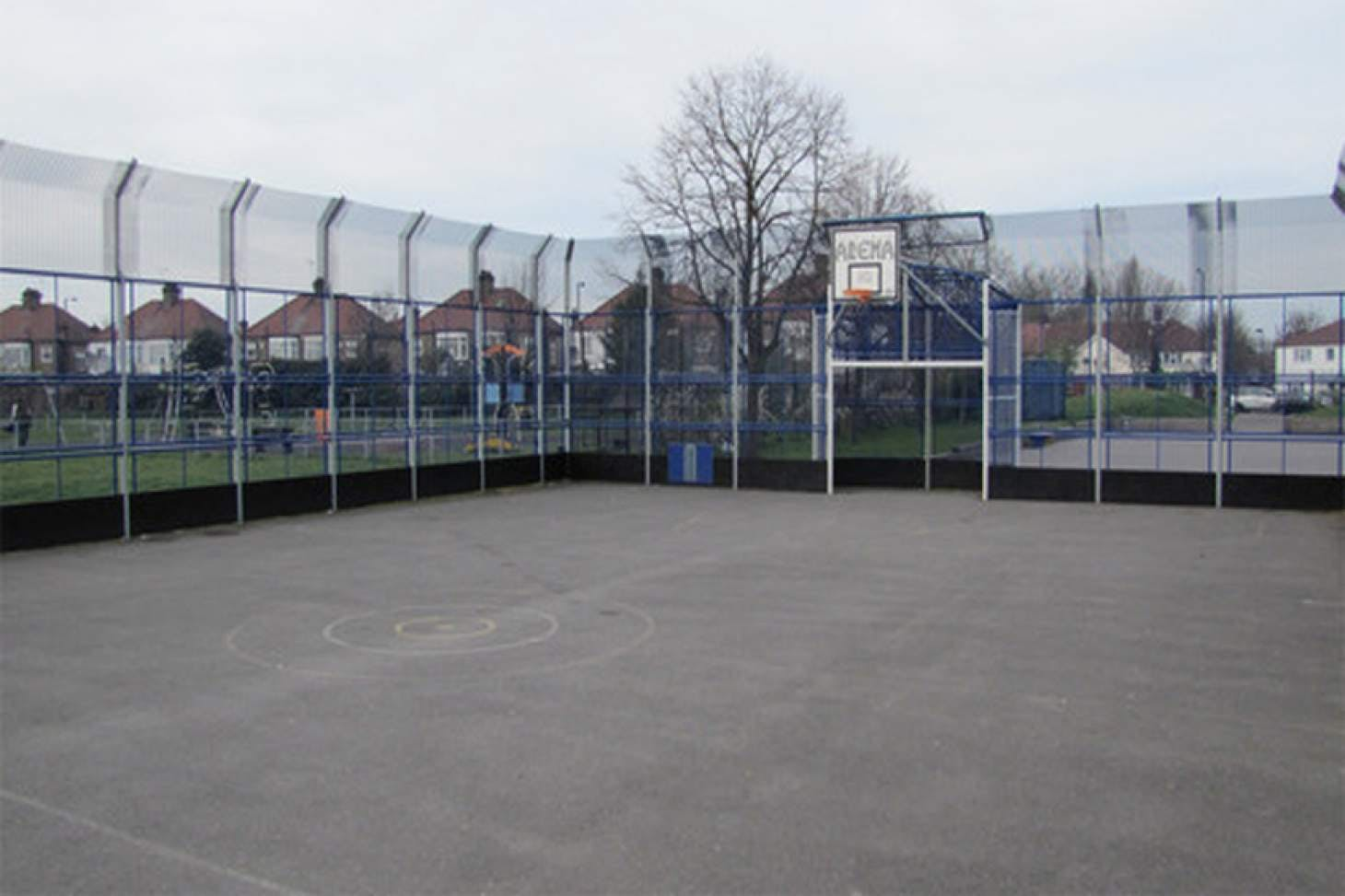 Wilbury Primary School Outdoor | Hard (macadam) netball court