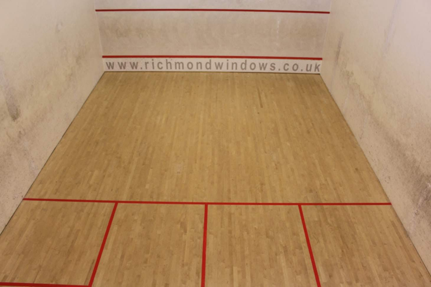 Richmond Olympus Indoor | Hard squash court