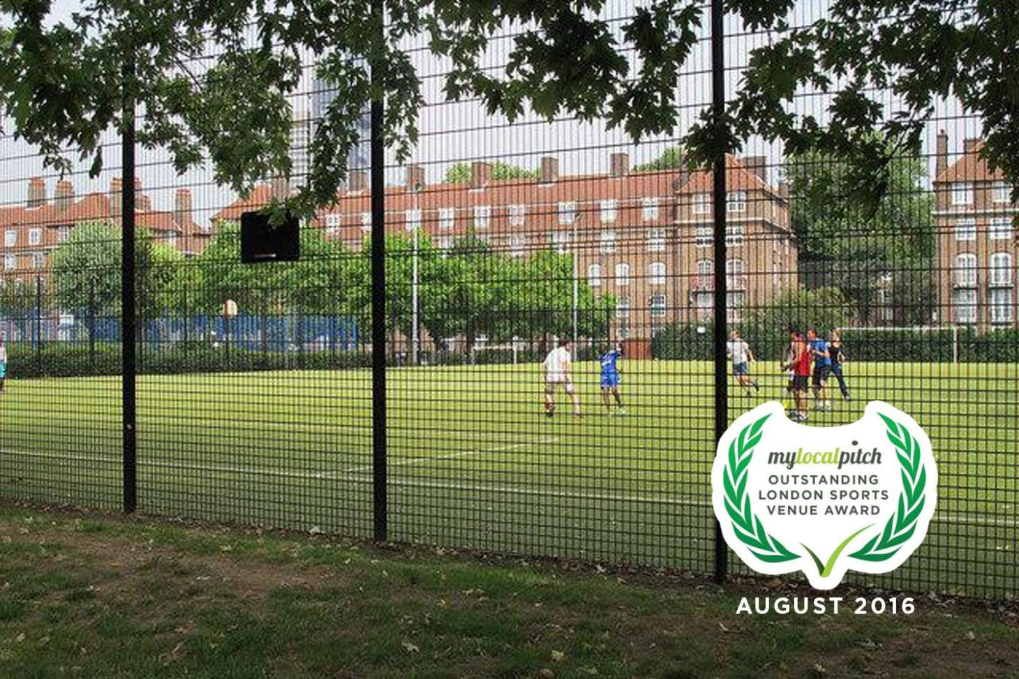 Tabard Gardens 5 a side | Astroturf football pitch