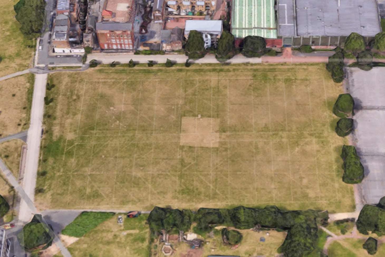 Shoreditch Park 11 a side | Grass football pitch