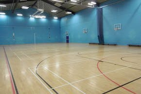 St Albans Girls' School | Hard Badminton Court