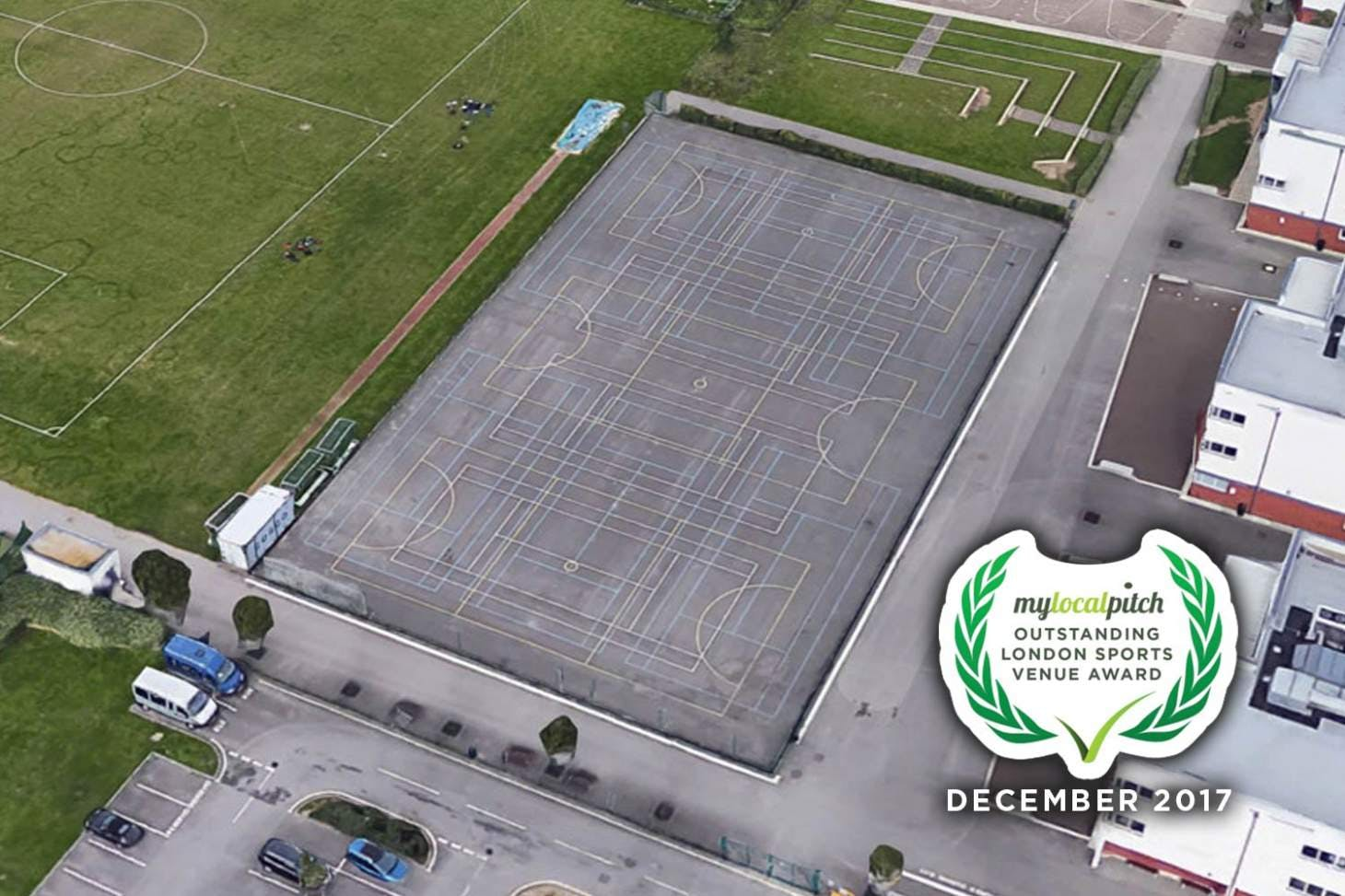Castle Green Leisure Centre Outdoor | Hard (macadam) netball court