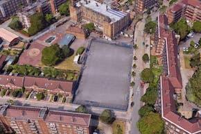 Vauxhall Primary School | Concrete Football Pitch
