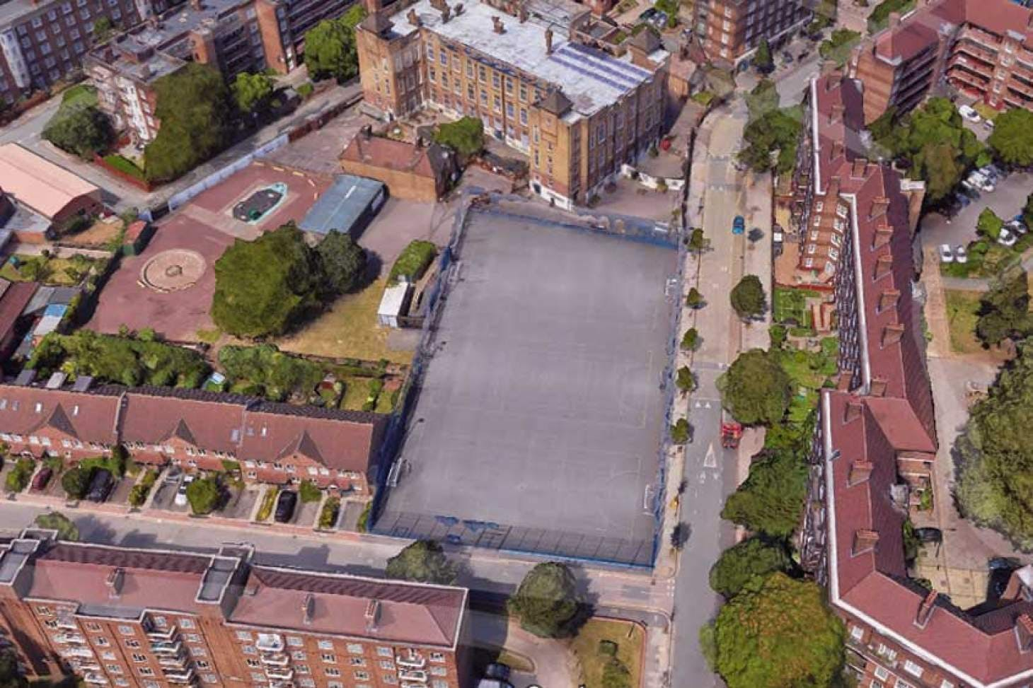 Vauxhall Primary School Outdoor | Hard (macadam) netball court