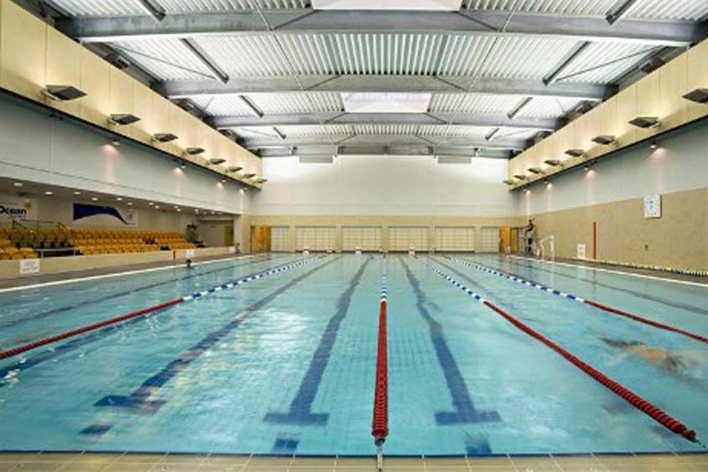 Mile End Park Leisure Centre and Stadium Indoor swimming pool