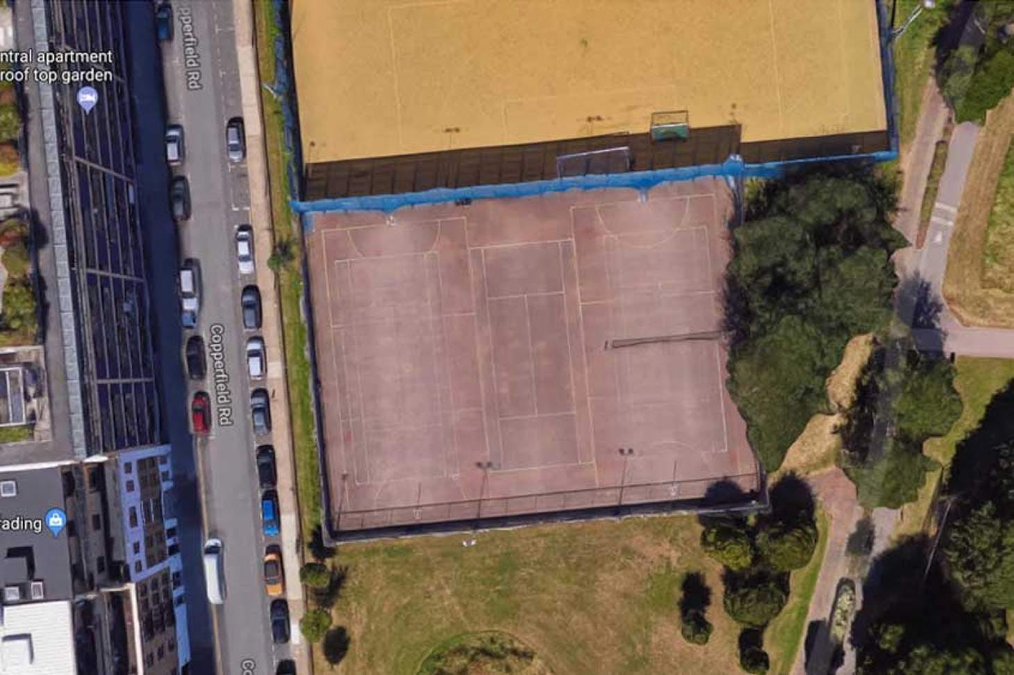 Mile End Park Leisure Centre and Stadium Outdoor | Concrete netball court