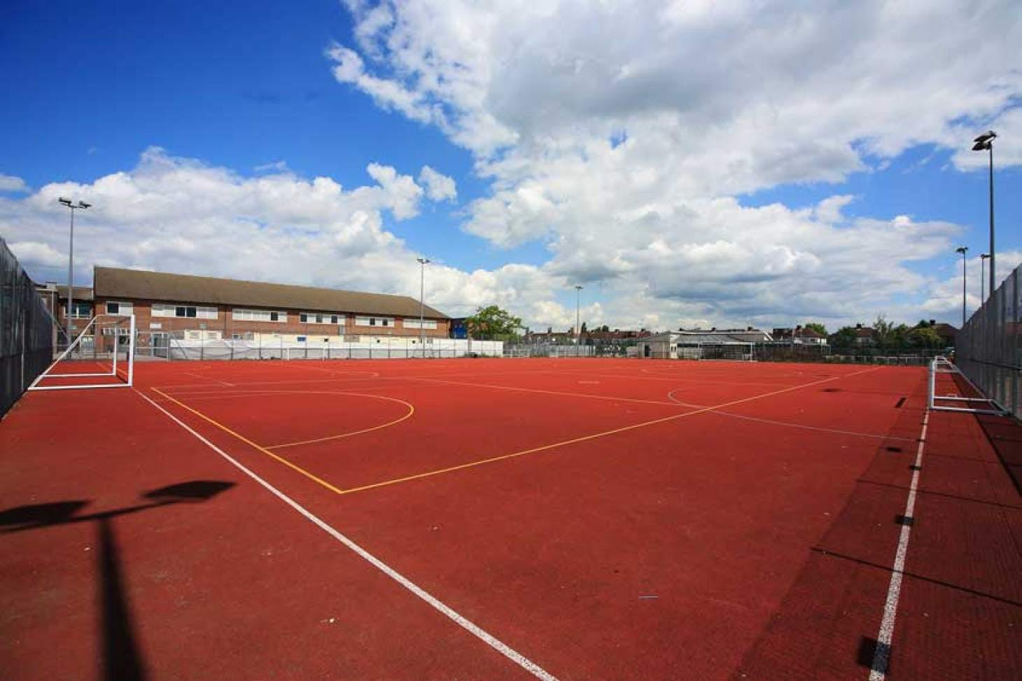 Nightingale Academy Outdoor   Hard (macadam) netball court